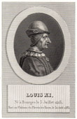 Portrait of Louis XI (1423-1483)