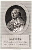 Portrait of Louis XVI (1754-1793)