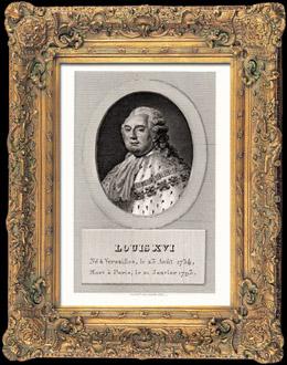 Porträt von Ludwig XVI (1754-1793)