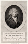 Portrait of Mirabeau (1749-1791)
