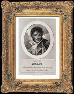 Porträt von Murat (1771-1815)