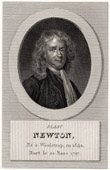 Portrait of Newton (1642-1727)
