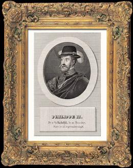 Porträt von Philipp II (1527-1598)