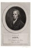 Portrait of William Pitt (1759-1805)