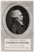 Portrait of Robespierre (1759-1794)