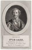 Portrait of Comte de Saxe (1696-1750)