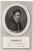 Portrait of Sixtus V (1521-1590)
