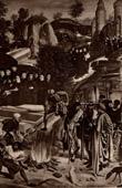 Juliano, o Ap�stata Queima os Ossos de S�o Jo�o Batista (Geertgen Tot Sint-Jans ou Geertgen van Haarlem)