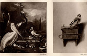 Pelican and other Birds - The Floating Feather (Melchior d'Hondecoeter) - The Goldfinch (Carel Fabritius)