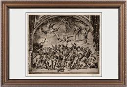 Fresco - Catedral de Orvieto - Juicio Final - Apocalipsis - Condenados en el Infierno (Luca Signorelli)