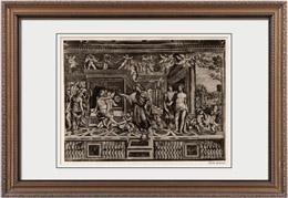 Fresque - Alexandre le Grand - Les Noces d'Alexandre et de Roxane (Le Sodoma)