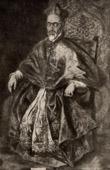 Portrait of the Great Inquisitor Cardinal Fernando Ni�o de Guevara (El Greco)