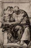 Fresco - Sistine Chapel - The Cumaean Sibyl (Michelangelo)