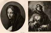 Virgin Mary - Madonna (Carlo Dolci) - Saint Francis of Assisi (Pier Francesco Mazzucchelli or il Morazzone)