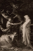 Apparition of the Spirit of Samuel to Saul at the Witch of Endor (Salvator Rosa)
