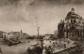 The Grand Canal and the Church of the Salute in Venice (Canaletto)