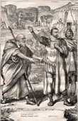 Ancient Rome - Centurion - Legionary - Legendary Roman General - Gaius Marcius Coriolanus and Menenius (Shakespeare)