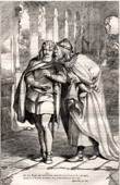 The King Claudius and Laertes (Shakespeare)
