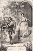 Anne Page and Slender - The Merry Wives of Windsor (Shakespeare)