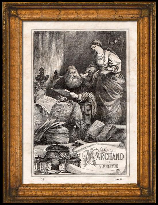 Grabados antiguos el mercader de venecia shakespeare - El mercader de venecia muebles outlet ...