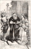 Jessica and Shylock - The Merchant of Venice (Shakespeare)
