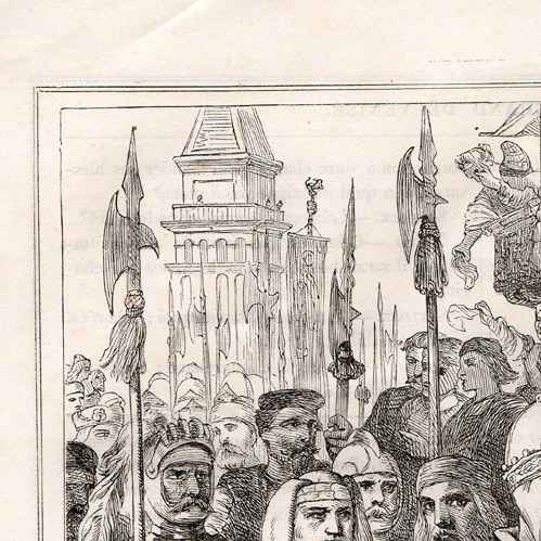 Grabados antiguos el duque de venecia el mercader de venecia shakespeare grabado - El mercader de venecia muebles outlet ...