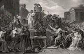 Ancient Rome - Capitoline Hill - Death of Virginia - Daughter of the Roman Consul Aulus Virginius
