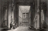 Ancient Rome - Roman Mythology - Capitoline - The Temple of Jupiter Optimus Maximus or Temple of Jupiter Capitolinus on the Capitoline Hill