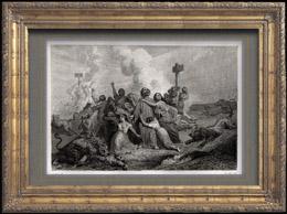 Antigua Roma - Circo Romano - Cristianos Lanzados a los Leones