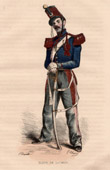 Military Uniform - Napoleon - Cavalry - Cadet of the French Military Academy at Saumur