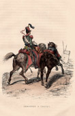 Military Uniform - Napoleonic Wars - Light Cavalry - Chasseur � Cheval