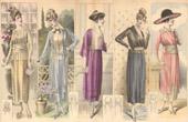 Fashion Plate - French Mode - Parisian Woman - Paris - France - Dress - Quelques Petites Robes - Creation Beer - Creations Elise Poret
