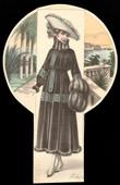 Fashion Plate - French Mode - Parisian Woman - Paris - France - Coat - Le Chic de Paris
