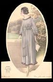 Fashion Plate - French Mode - Parisian Woman - Paris - France - Dress - Une Jolie Robe Simple