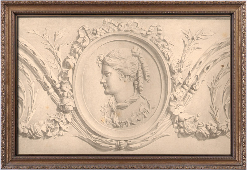 Antique Prints & Drawings | Decoration - Ornament Style Louis XVI | Lithography | 1850