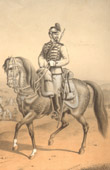 Uniform - French Army under the Restoration - Horse - Light Cavalry - Chasseur