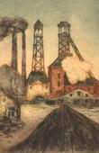 Industry - Factory close to Saint-Etienne (Rhône-Alpes - France)