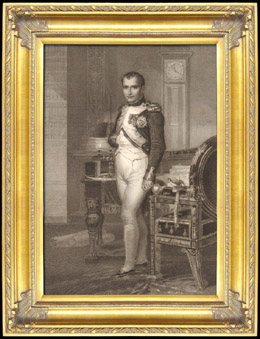 Portrait of Napoleon of France - Emperor of the French