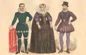 French Fashion History - Costumes of Paris - 16th Century - XVIth Century - Portrait of Antoine de Saint-Chamand, Seigneur de M�ry - Henry IV of France