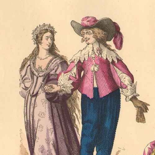 Marriage and dating in the 17th century. Dating for one night.