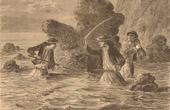 Fishing - Fisherman - Conger Eel - La P�che du Congre