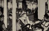 Impressionism - Women in Front of a Caf� - Femmes devant un Caf� (Edgar Degas - 1877)