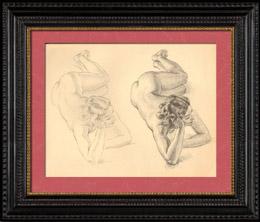Desnudo Artístico - Desnudo Femenino - Mujer - Estudio - Christine - Postura 10