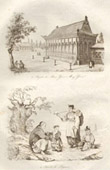 China - Peristyle of the Yuen Ming Yuen Palace - Farming Family