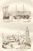 Philippines - Customs of Manila - San Francisco's church in Manila