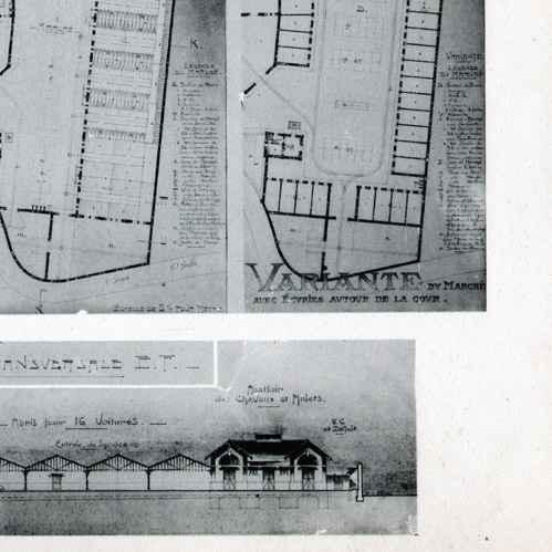 Stampe antiche stampa di disegno di architetto for Disegno del piano di architettura