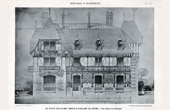 Drawing of Architect - Architecture - Cottage - Pl. 218 (De Rutt�)