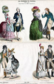 German and French Costume - German and French Fashion - France - Germany (18th Century - XVIIIth Century)