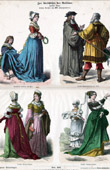 German and French Costume - German and French Fashion - France - Germany (16th Century - XVIth Century)