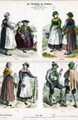 German Costume - German Fashion - Uniform - Germany - Bavaria - Dachau - Rosenheim - Miesbach